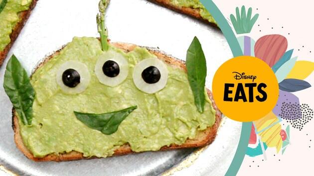 Toy Story Alien Toast | Disney Eats x Tastemade