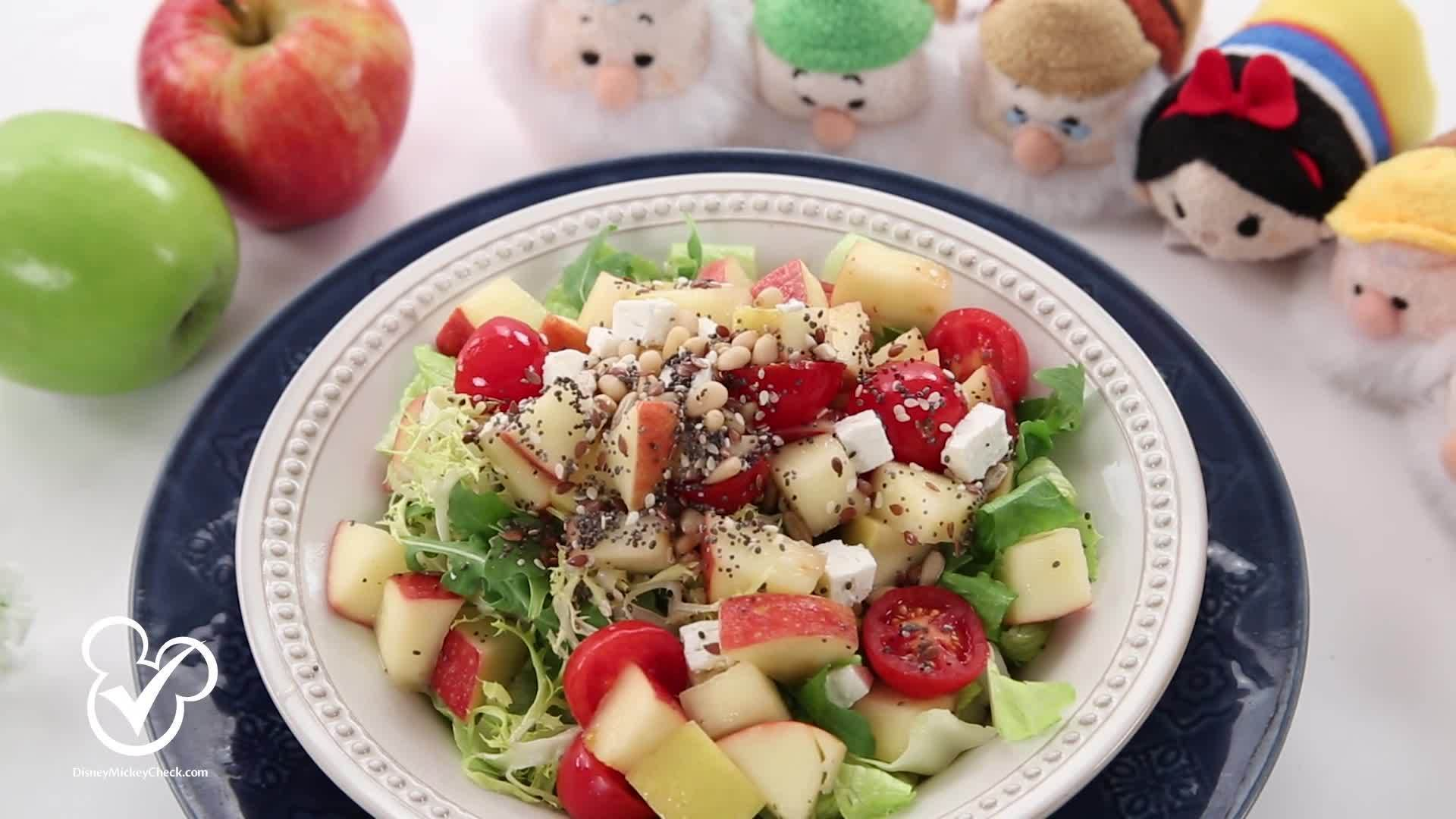 Live Healthier: Snow White's Enchanted Apple Salad