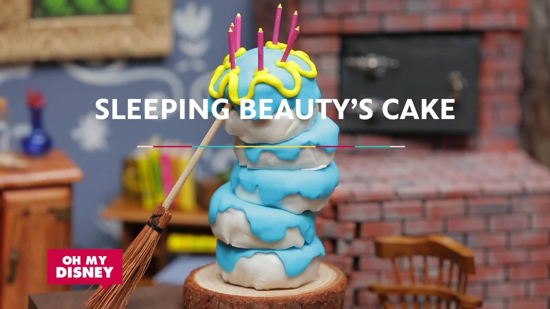 Tiny Food: Sleeping Beauty | Sketchbook | Oh My Disney
