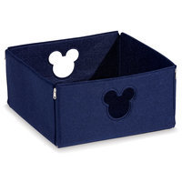 Mickey Mouse Fantastic Felt Square Basket by Ethan Allen - Small