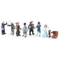 Captain Salazar and Ghost Crewman Action Figure Set - Pirates of the Caribbean: Dead Men Tell No Tales - 3''