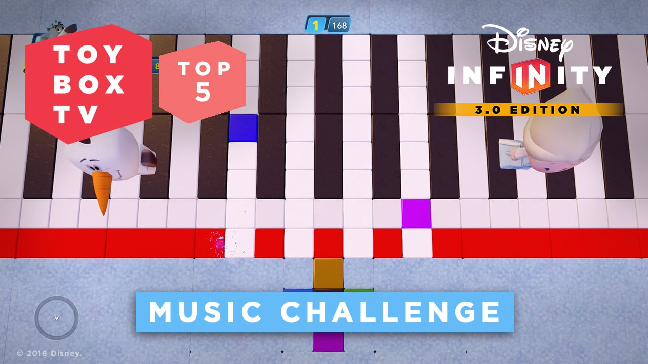 Music Challenge - Top 5 Toy Boxes - Disney Infinity Toy Box TV