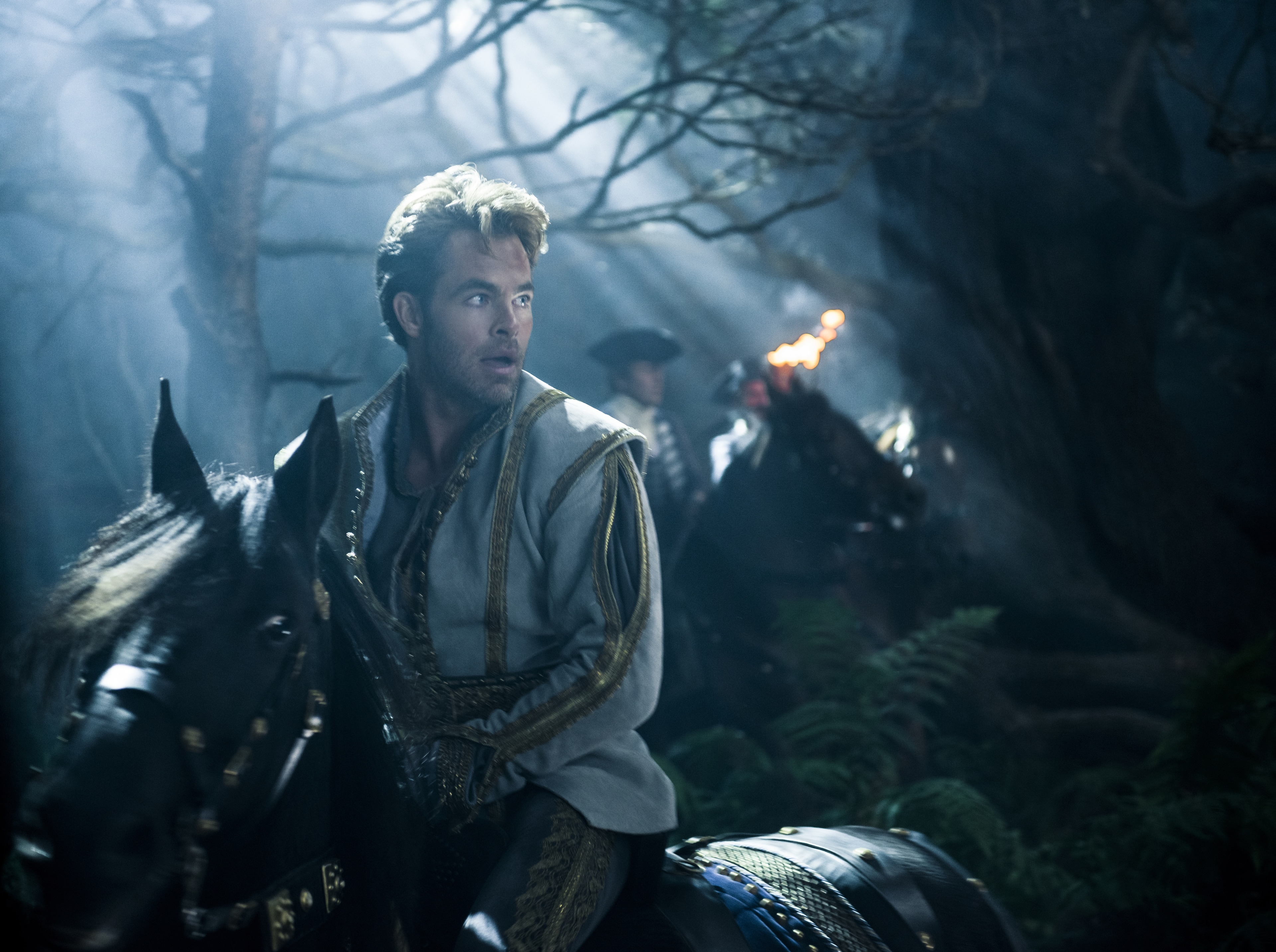 """Chris Pine stars as Cinderella's Prince in """"Into the Woods"""""""
