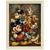Image of ''Mickey Mouse and Friends'' Giclée by Darren Wilson # 9