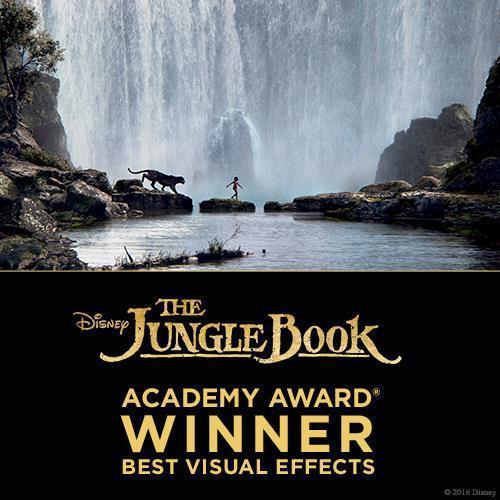 Studios - Academy Awards - The Jungle Book - Homepage - Stream AU