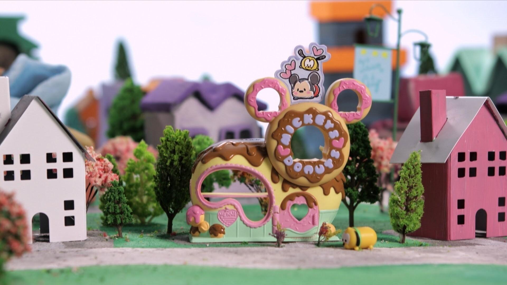 Mickey's Donut Shop | Tsum City by Disney