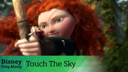 Touch the Sky | Brave Lyric Video