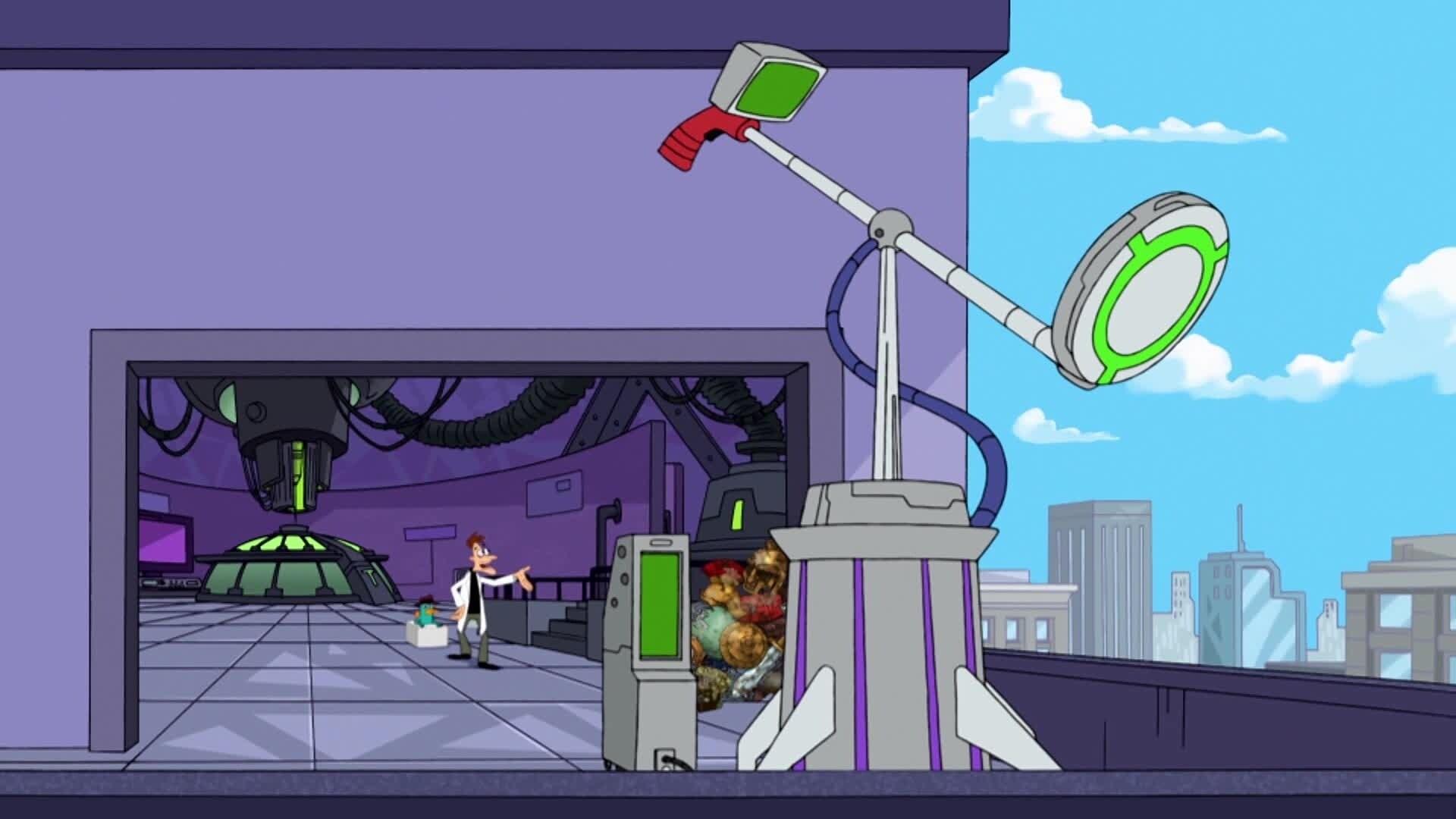 Phineas und Ferb - Der Supercomputer/ Die Schnabeltierverwechslung