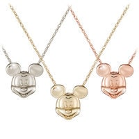 Mickey Mouse Diamond Necklace - 18 Karat