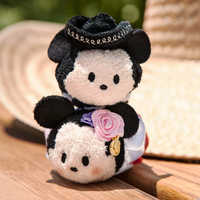 Image of Mickey and Minnie Mouse ''Tsum Tsum'' Plush Set - Mini - 3 1/2'' - Mexico # 4