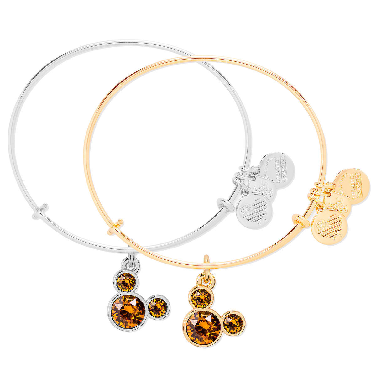 Product Image Of Mickey Mouse Birthstone Bangle By Alex And Ani November 1