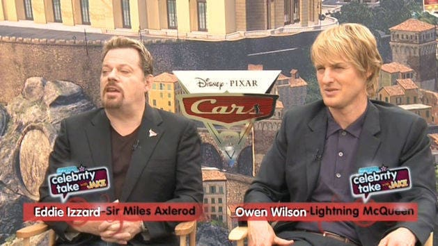 Cars 2 Red Carpet - Celebrity Take with Jake