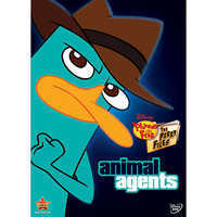 Image of Phineas and Ferb: Animal Agents DVD # 1