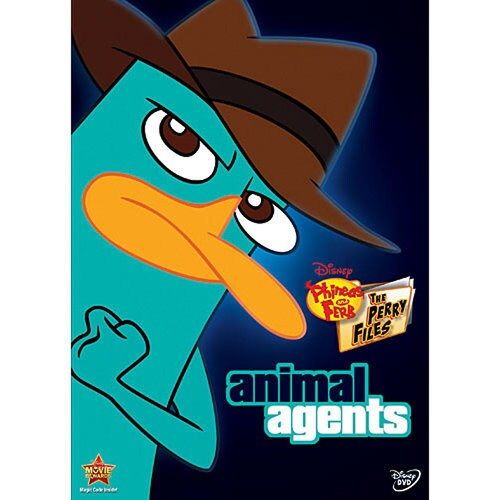 Phineas and Ferb: Animal Agents DVD