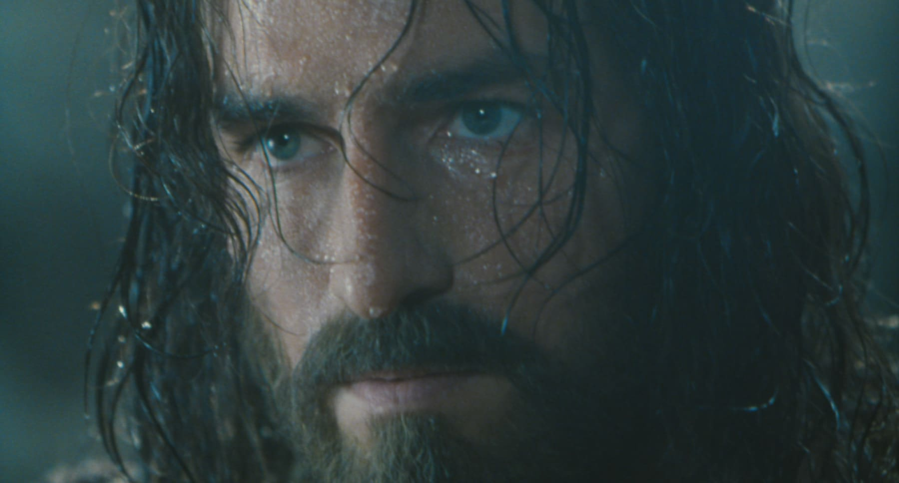 "Jim Caviezel in the movie ""The Passion of the Christ"""
