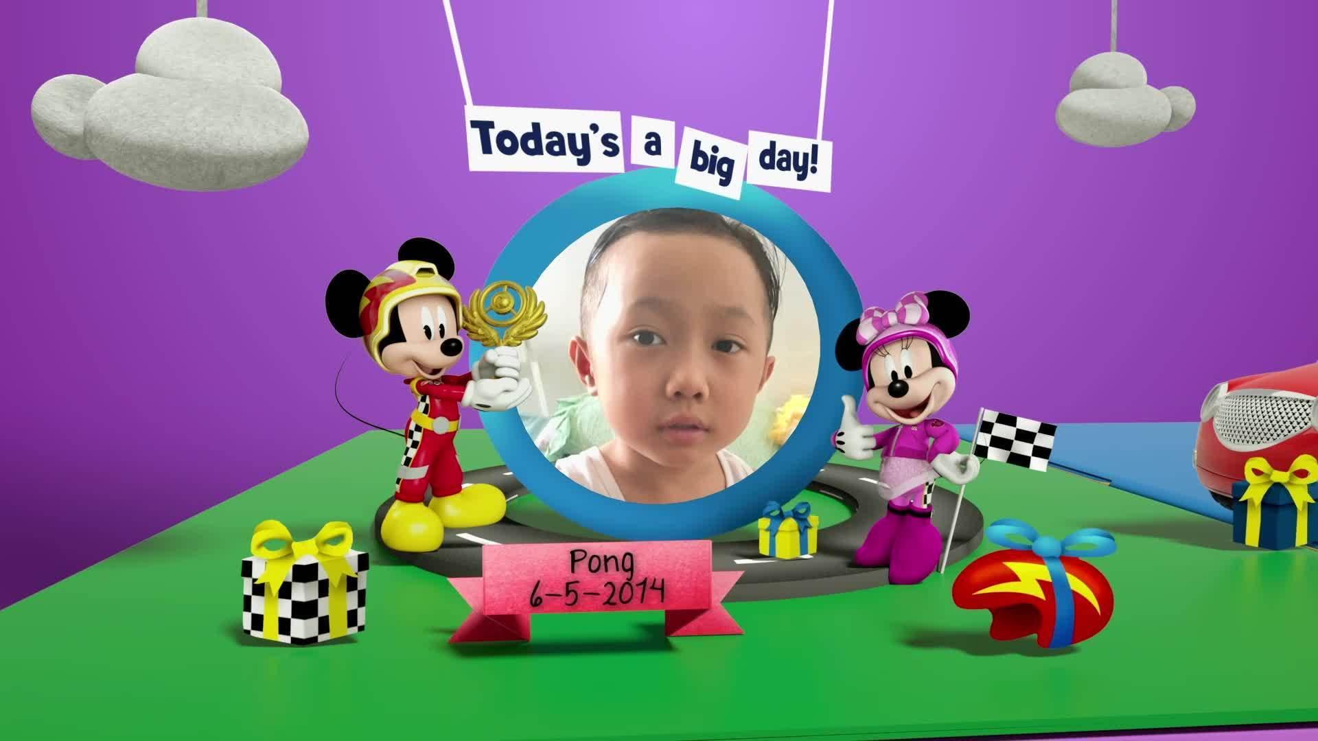 Disney Junior Birthday Book 2021 May Album 7