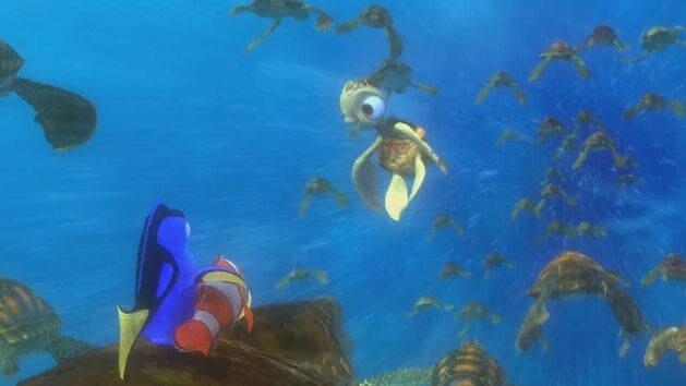 A saída - Procurando Nemo
