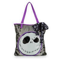 Image of Jack Skellington Faux Leather Shopper Tote # 1