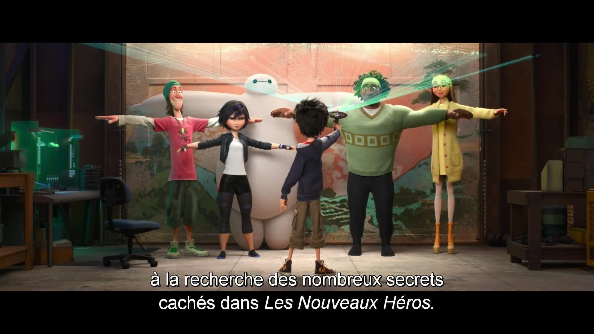 Les Nouveaux Héros - Bonus : Mickey & Les Mondes de Ralph
