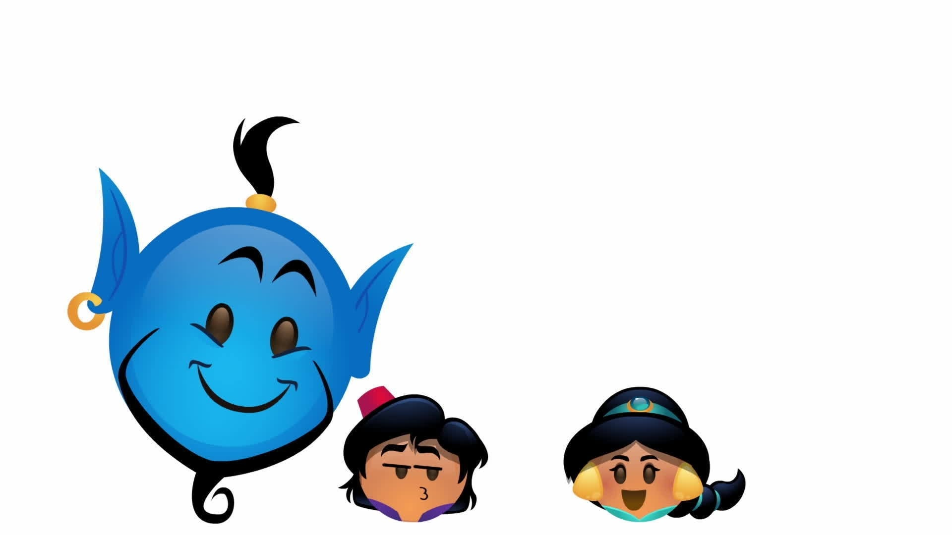 Aladdin as told by Emoji | Oh My Disney