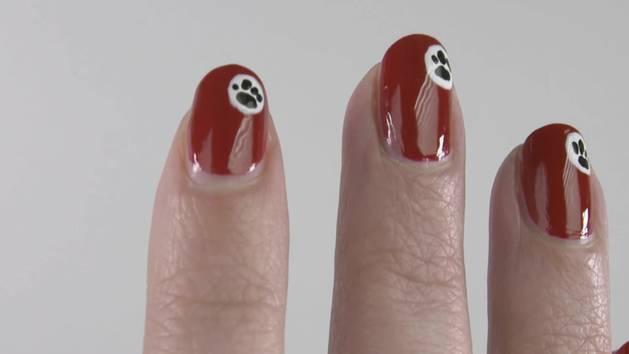 Nail Art: Stan, el perro bloguero - Disney Style