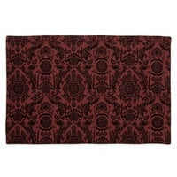 Image of The Haunted Mansion Wallpaper Placemat - Maroon # 1
