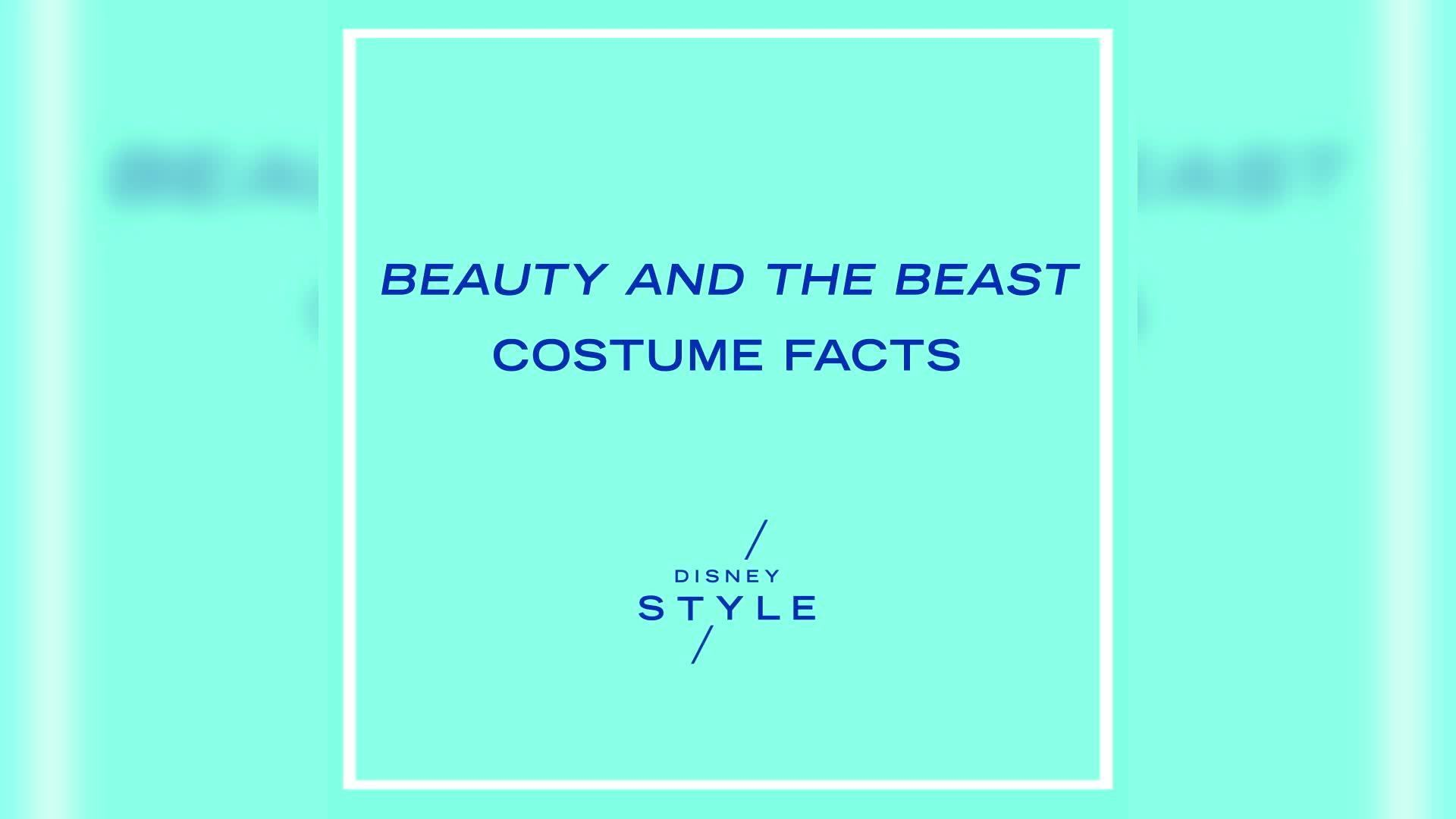 Beauty and the Beast Costume Facts