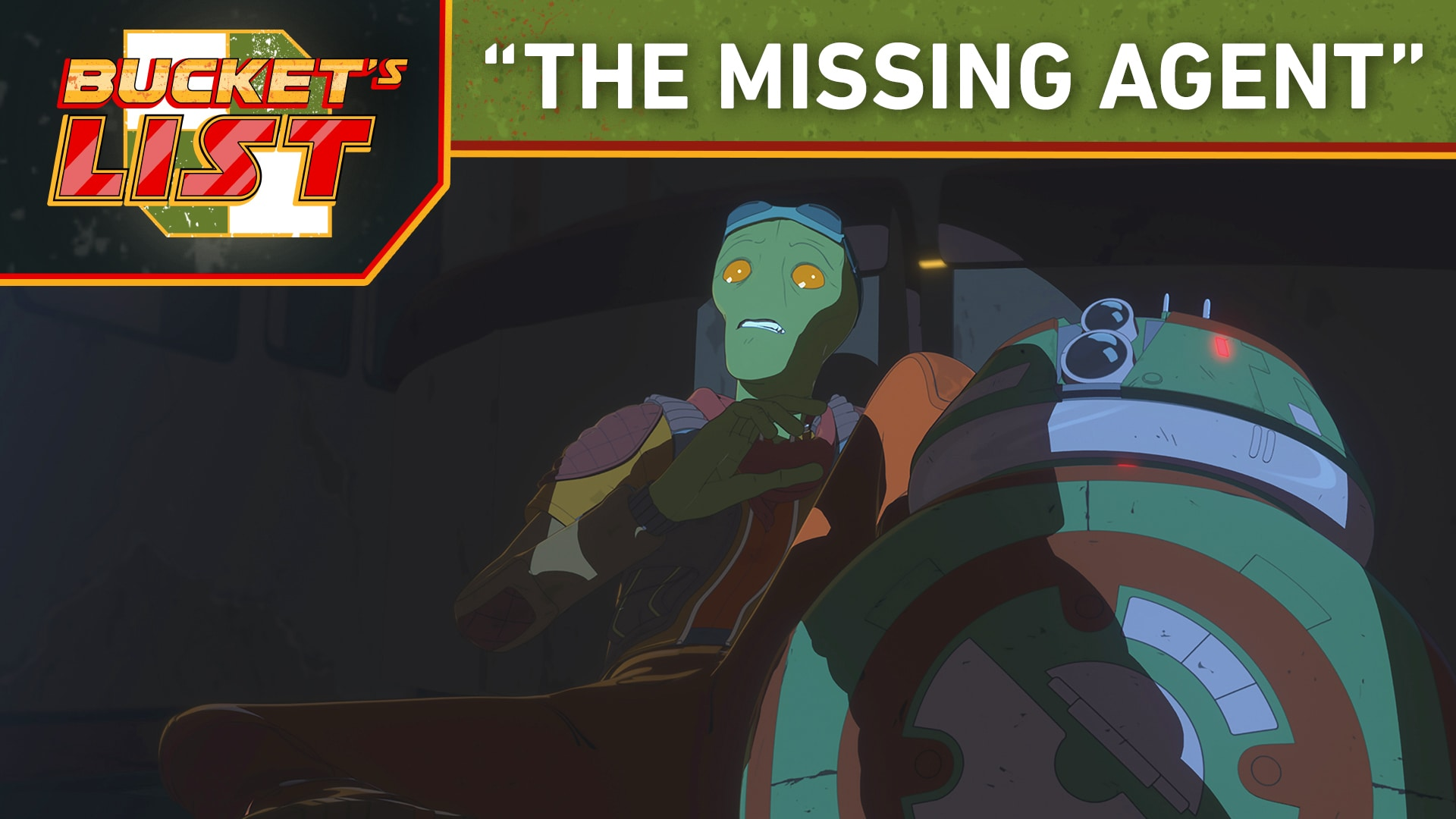 "Bucket's List: ""The Missing Agent"" - Star Wars Resistance"
