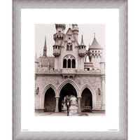 Image of Walt Disney at Sleeping Beauty Castle Giclé # 4
