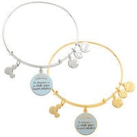 Image of Cinderella ''A Dream is a Wish . . .'' Bangle by Alex and Ani # 1