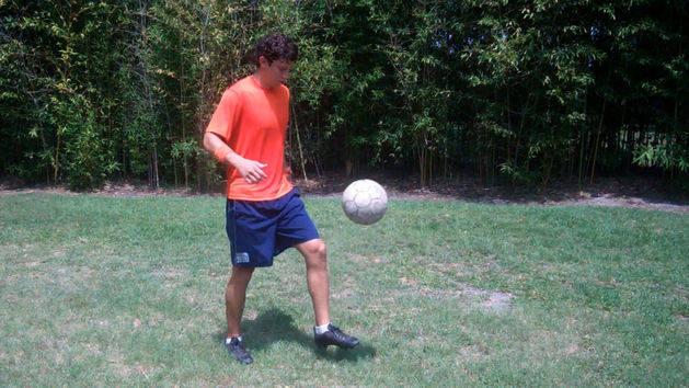 Soccer Training - Ground Pickup Trick Tutorial - Disney Exclusive