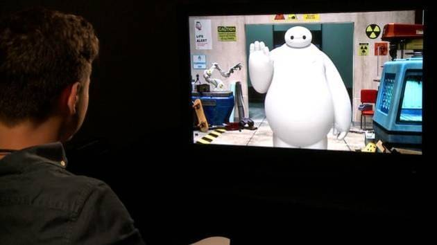 Meet Baymax | Satellite Interview - Oh My Disney