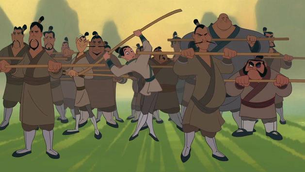 Mulan - Hoje serão homens de ação