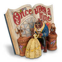 Image of Beauty and the Beast Story Book Figurine by Jim Shore # 3
