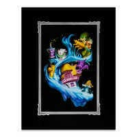 Image of Alice in Wonderland ''Madness Into Wonder'' Deluxe Print by Noah # 1