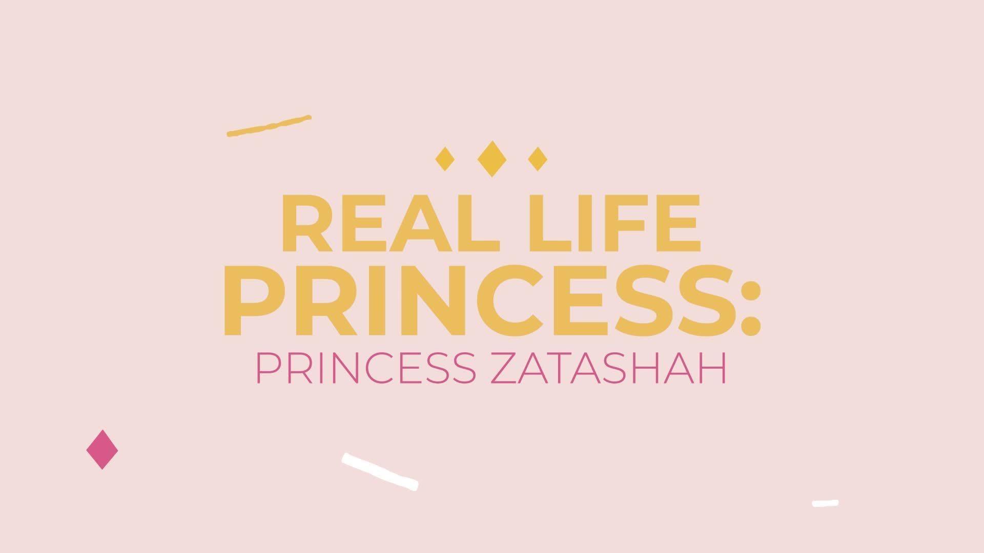 A Special Message from Princess Zatashah, a Real-Life Malaysian Princess