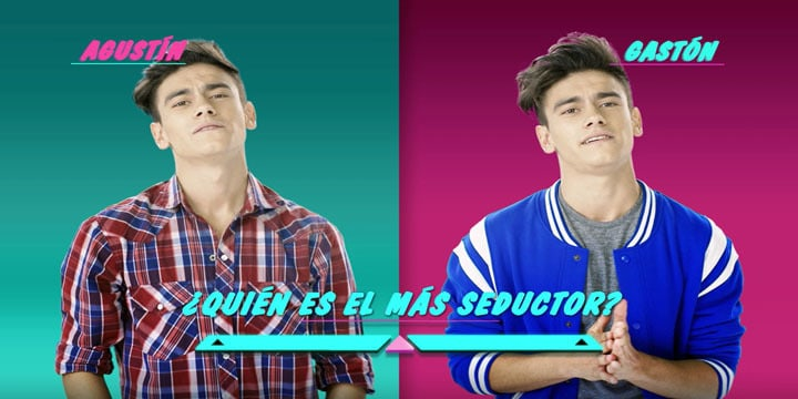 Soy Luna - Who is Who? Agustín vs. Gastón