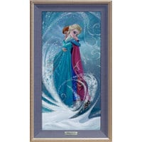 Frozen ''The Warm Embrace'' Giclée on Canvas by Lisa Keene - Limited Edition