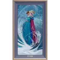 Image of Frozen ''The Warm Embrace'' Giclée on Canvas by Lisa Keene - Limited Edition # 1