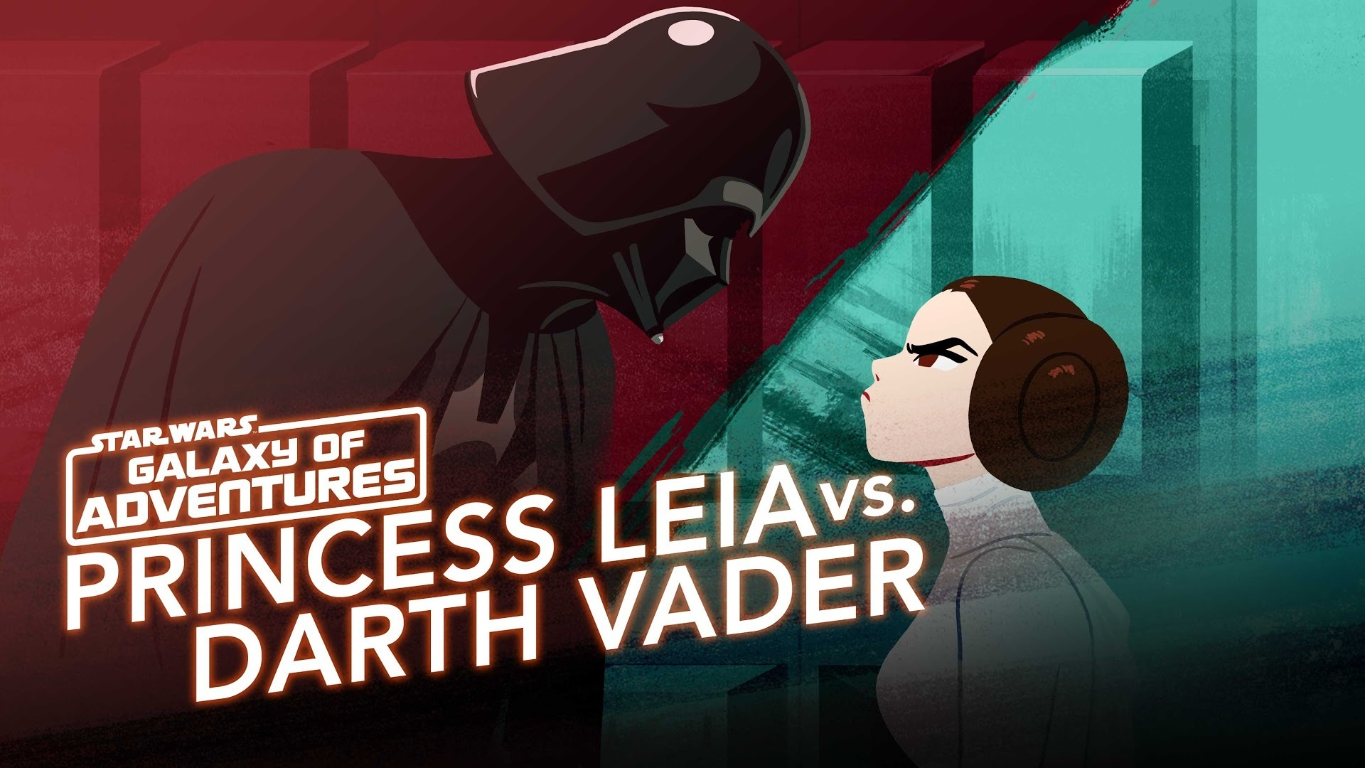 Princess Leia vs. Darth Vader - A Fearless Leader | Star Wars Galaxy of Adventures
