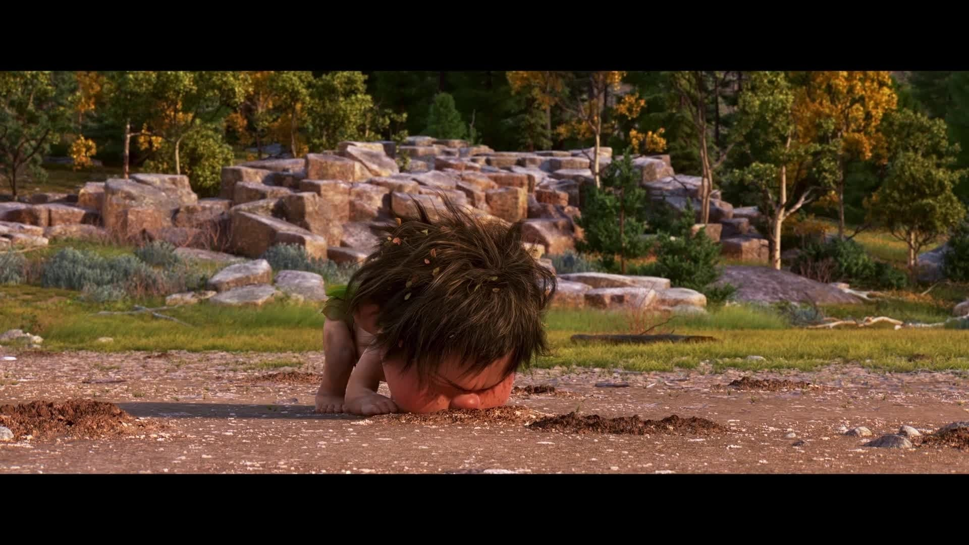 Le Voyage d'Arlo – Vie de Dino : la faute au jeu