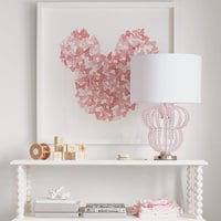 Image of Minnie Mouse Beaded Accent Lamp by Ethan Allen # 4