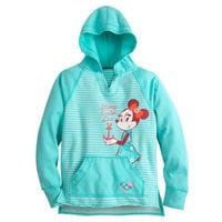 Minnie Mouse Hoodie for Girls - Disney Cruise Line