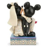 Image of Mickey and Minnie Mouse ''Congratulations!'' Figure by Jim Shore # 4