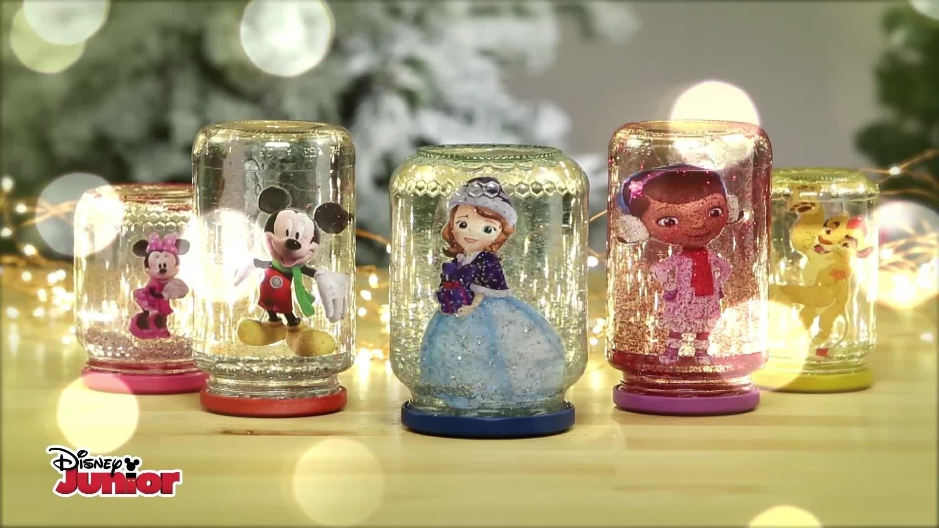 Disney Junior Snow Globes