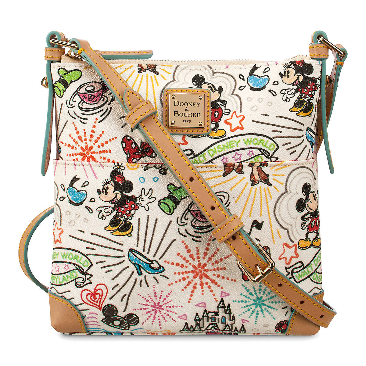 Disney Sketch Crossbody Bag By Dooney Bourke Shopdisney