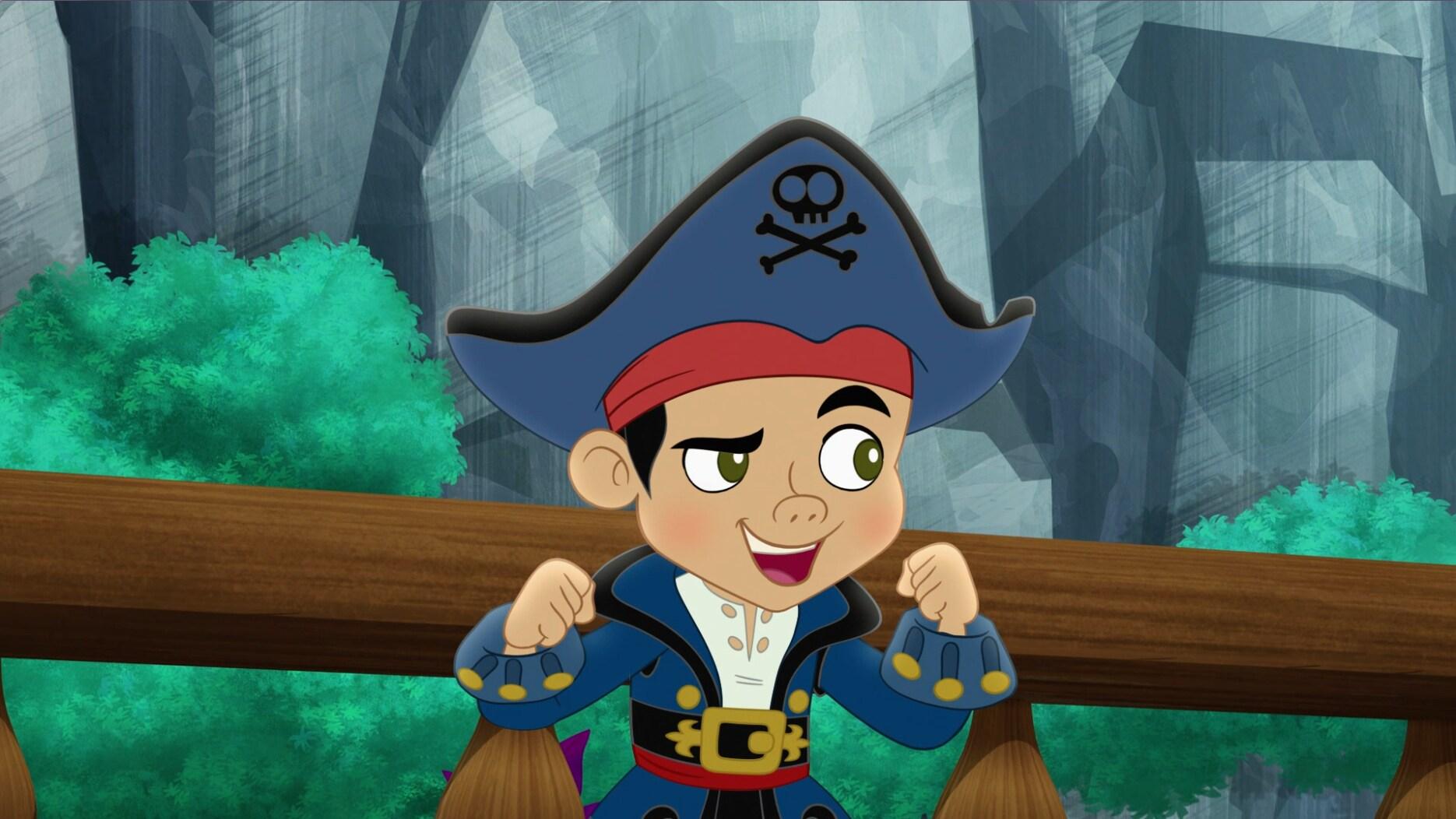 Capitão Jake e os Piratas da Terra do Nunca