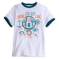 Mickey Mouse Ringer Tee for Boys - Disney Cruise Line