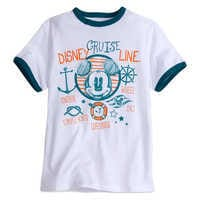 Image of Mickey Mouse Ringer Tee for Boys - Disney Cruise Line # 1