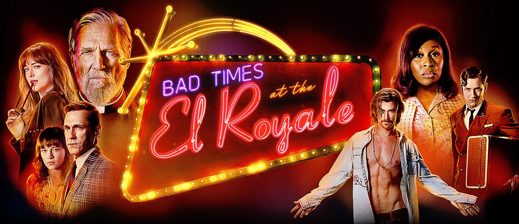 Bad Times at the El Royale Hero